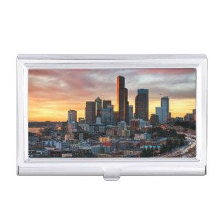 Centre de Colombie et Seattle du centre, Seattle Porte-cartes De Visite