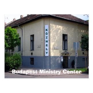 Centre de ministère de Budapest Carte Postale