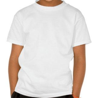 Centre de partie de chat noir t-shirts
