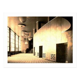 Centre de Rockefeller, foyer de théâtre, New York Carte Postale