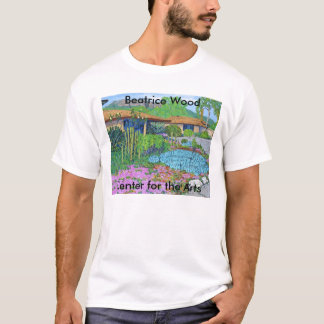 Centre en bois de Béatrice pour le T-shirt d'arts