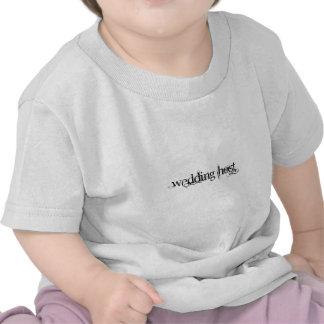 Centre serveur de mariage t-shirt