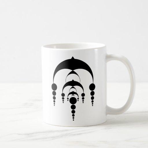 Cercle 6 (lumière) de culture mug à café