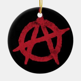 Cercle A d anarchie Ornement
