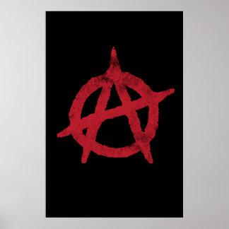 Cercle A d'anarchie Affiches
