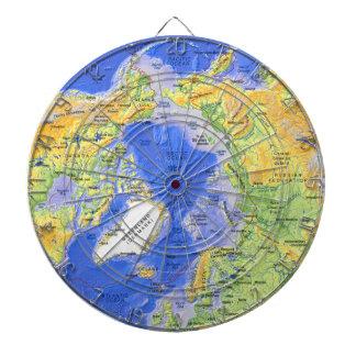 Cercle arctique jeux de fléchettes