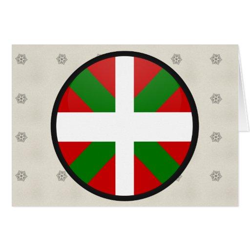 Cercle Basque de drapeau de qualité Carte De Vœux