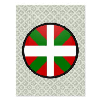 Cercle Basque de drapeau de qualité Carte Postale