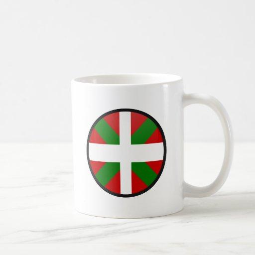Cercle Basque de drapeau de qualité Mugs