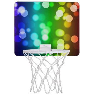 Cercle de basket-ball coloré ! mini-panier de basket