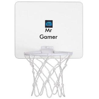 Cercle de basket-ball de M. Gamer Mini Mini-panier De Basket