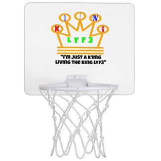 Cercle de K1NG LYF3 Basketbal Mini-panier De Basket