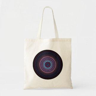 Cercle de kaléidoscope sac en toile