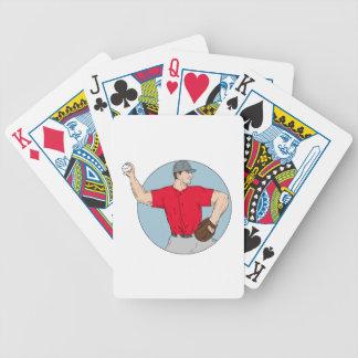Cercle de lancement DR de boule de broc américain Jeux De Cartes