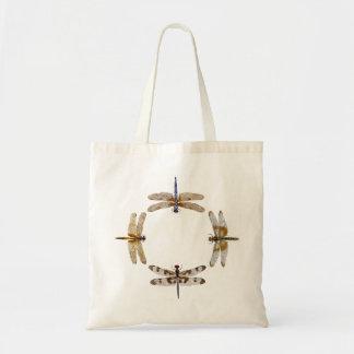 Cercle de libellule sacs en toile