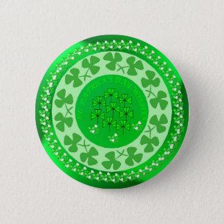Cercle de shamrock badge