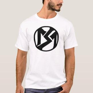 Cercle de tabagisme de vairons t-shirt