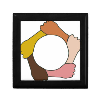 Cercle des mains boîte à souvenirs