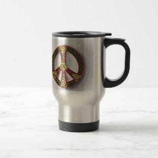 Cercle irlandais mug de voyage