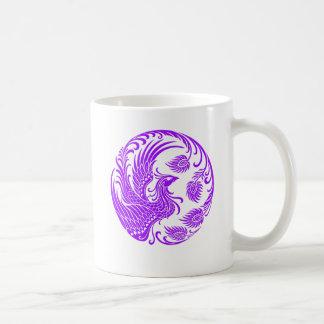 Cercle pourpre traditionnel de Phoenix sur le Mug