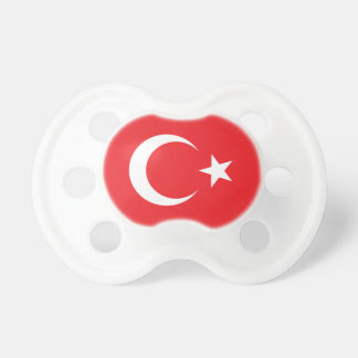 Cercle turc de drapeau sucettes pour bébé