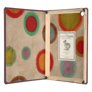 Cercles colorés d'hommes vintages