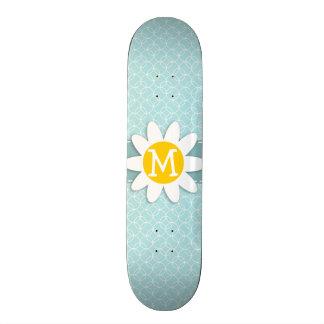 Cercles de bleus layette ; Marguerite Skateboards Personnalisés