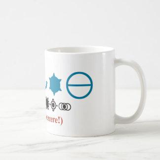 Cercles de culture mug blanc