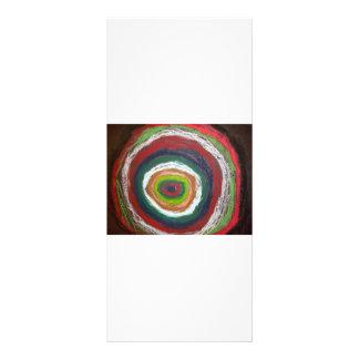 Cercles de Kandinsky Modèle De Carte Double