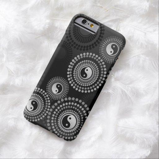 Cercles de Yin Yang de cas de l'iPhone 6 Coque iPhone 6 Barely There