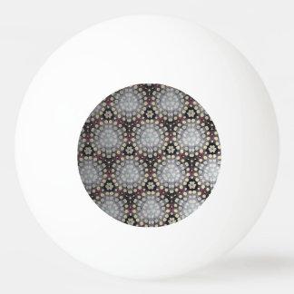 Cercles et boule de ping-pong de points balle de ping pong