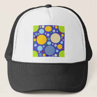 cercles et pois casquette