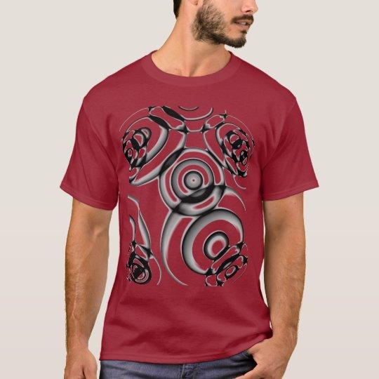 Cercles géométriques t-shirt