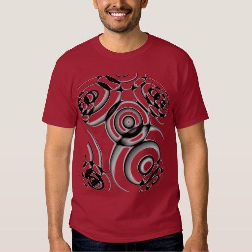 Cercles géométriques t-shirts