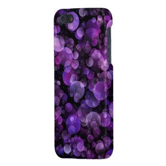 Cercles violets de Bokeh d'abrégé sur pourpre Coques iPhone 5