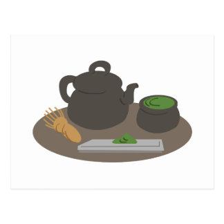 Cérémonie de thé japonaise cartes postales