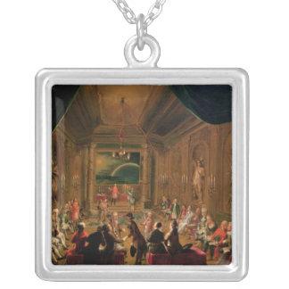 Cérémonie d'initiation dans un maçonnique viennois bijouterie personnalisée