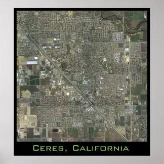 Ceres étroitement poster