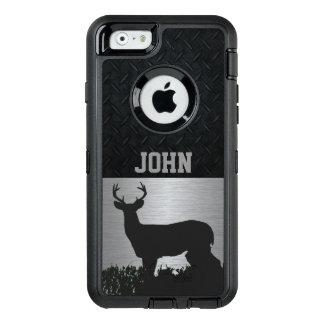 Cerfs communs Antlered dans le cas nommé fait sur Coque OtterBox iPhone 6/6s