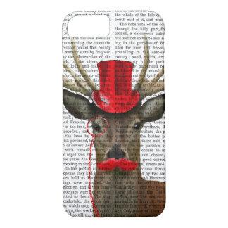 Cerfs communs avec le casquette et la moustache coque iPhone 7