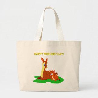 Cerfs communs de jour de mères sacs