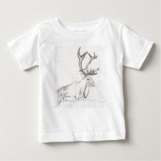 Cerfs communs dessinant Eliana T-shirt Pour Bébé