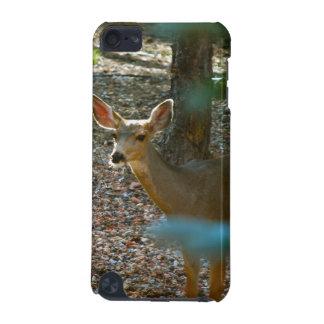 Cerfs communs en bois coque iPod touch 5G