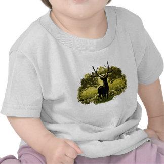 Cerfs communs en nature t-shirt