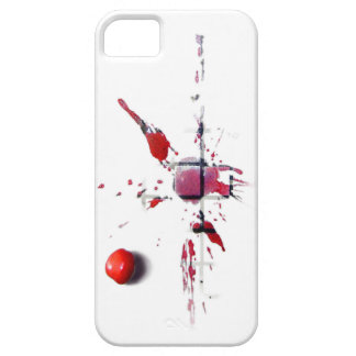 Cerise à plat coque iPhone 5 Case-Mate