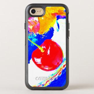Cerise sur la boîte supérieure de loutre coque otterbox symmetry pour iPhone 7