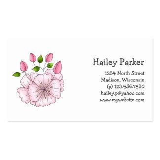 Cerises de pays · Groupe de fleurs de cerisier Cartes De Visite Professionnelles