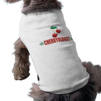 Cerises drôles t-shirt pour chien