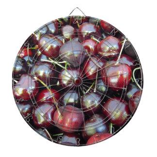 Cerises noires de perle jeux de fléchettes