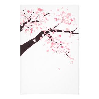 Cerisier Papier À Lettre Personnalisé